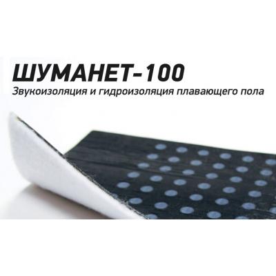 Гидро Шумоизоляция Шуманет 100 Комби 1х10м (10м2)