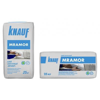 Плиточный клей Кнауф-Мрамор белый 25кг