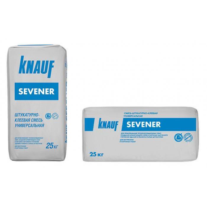 Штукатурно-клеевая смесь Севенер Кнауф 25кг