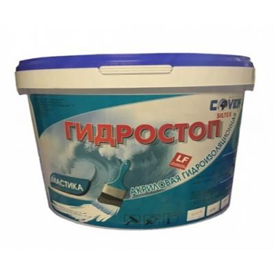 Гидроизоляционная мастика ГИДРОСТОП (COVER) 5кг
