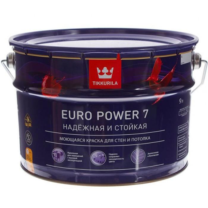 Краска Тиккурила Euro Power 7, 10л