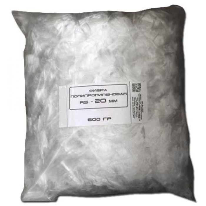 Фибра полипропиленовая (Фиброволокно) RS-12 0,6кг