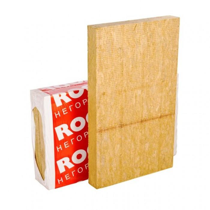 Каменная вата Rockwool Фасад Баттс 1000х600х50мм, 4плиты, 2.4м2