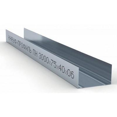 Профиль направляющий премиум 75х40 L=3м