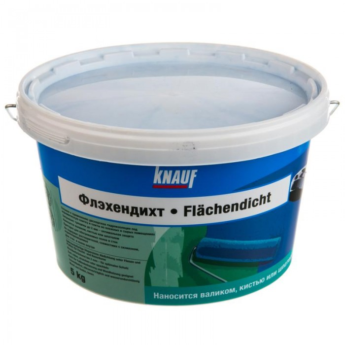 Жидкая гидроизоляция Кнауф Флэхендихт 5кг