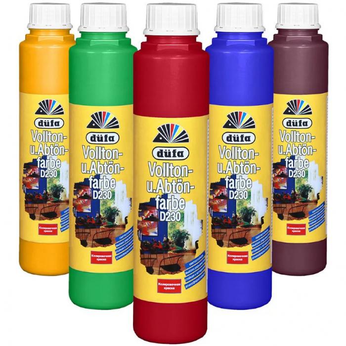Колер для краски Dufa водно-дисперсионный (цвета в ассортименте)