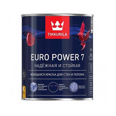 Краска Тиккурила Euro Power 7, 0,9л
