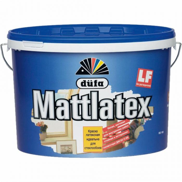 Краска DUFA MATTLATEX D100 латексная 10л