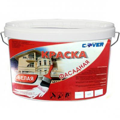 Фасадная краска COVER 5кг (белая)