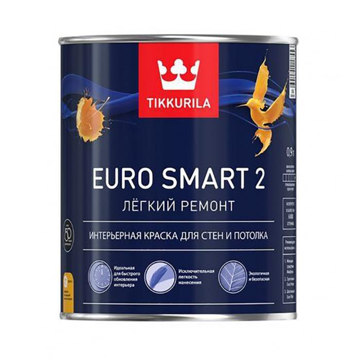 Краска Тиккурила Euro Smart-2, 0,9л