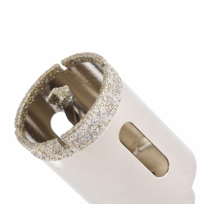Коронка алмазная по керамограниту, 30х67мм MATRIX
