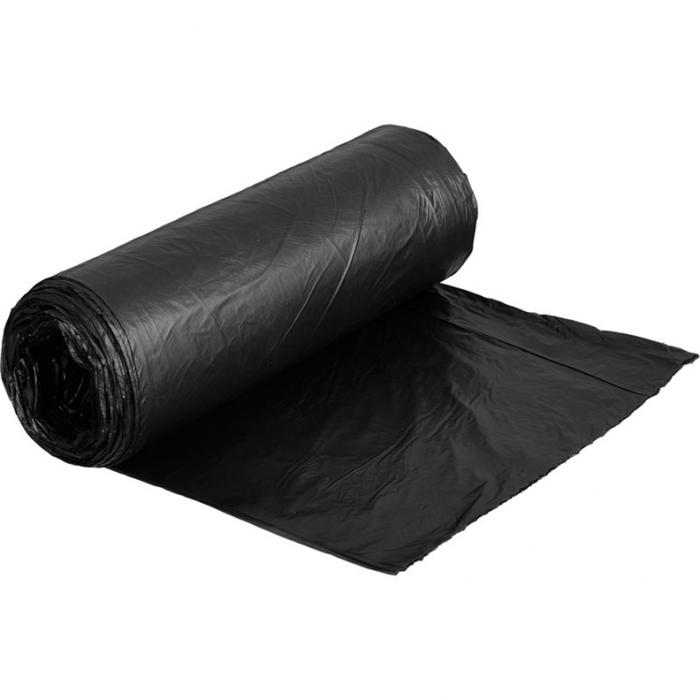 Мешки для мусора полиэтиленовые 240л (в уп10шт,черные)