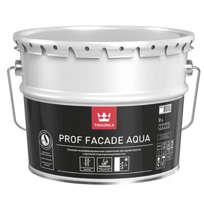 Фасадная краска TIKKURILA Prof Facade Aqua 9л