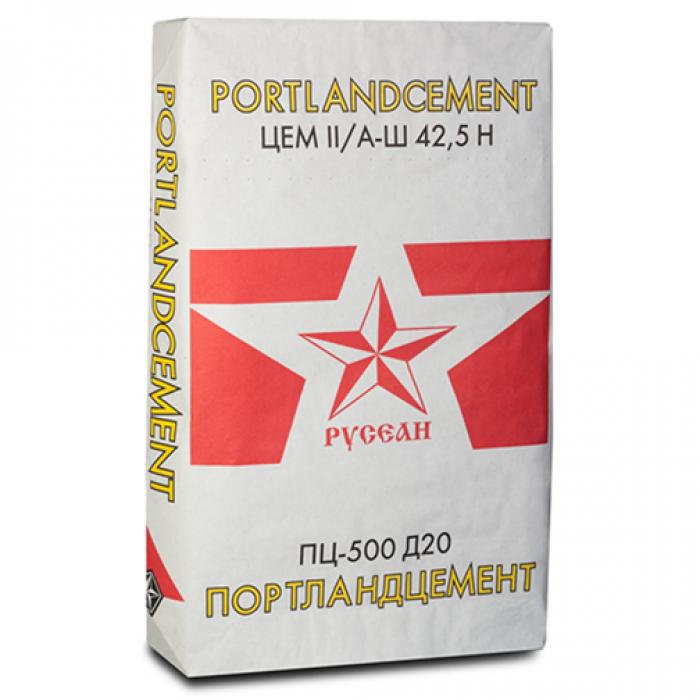 Цемент Русеан М500 Д20 40кг