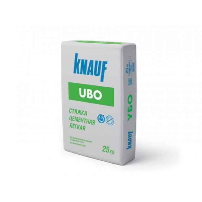 Стяжка цементная лёгкая Кнауф-Убо 25кг
