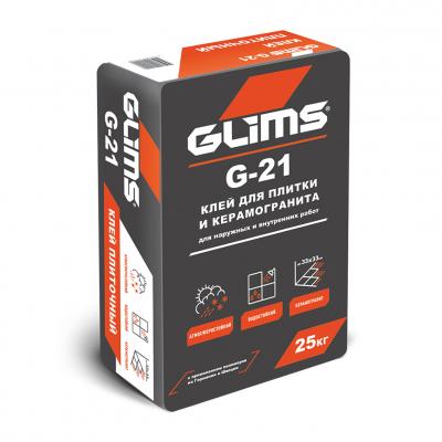 Плиточный клей Мастер G-21 Глимс 25кг