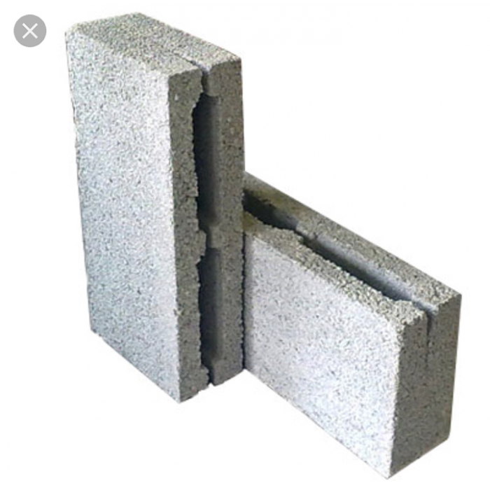Керамзитобетонный блок 390х188х90