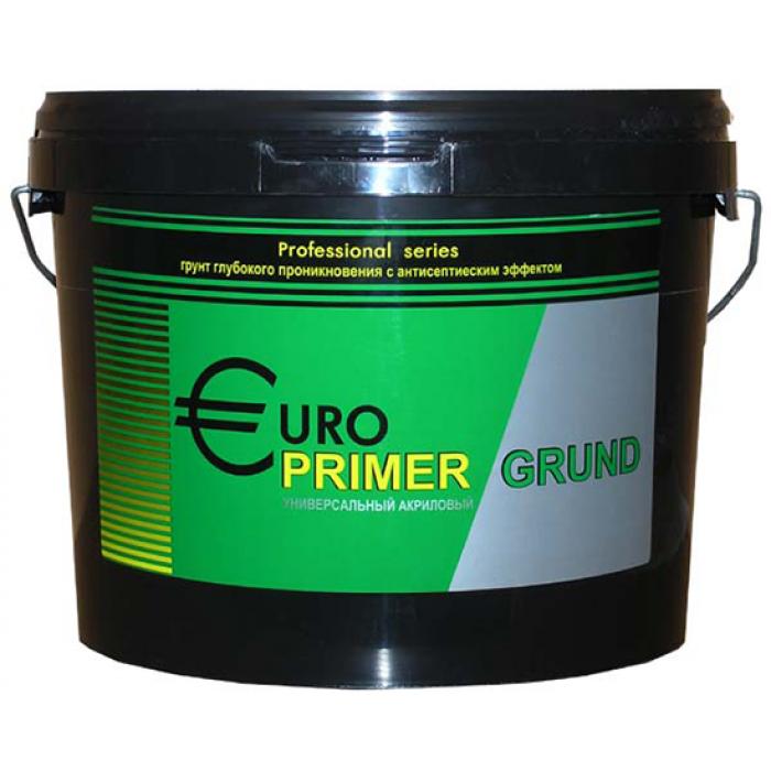 Грунт для наружных и внутренних работ EURO PRIMER 10л